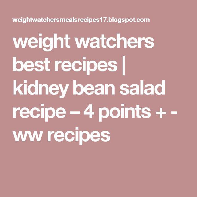 ... Kidney Bean Salads on Pinterest | Kidney Beans, Beans Salad and Beans
