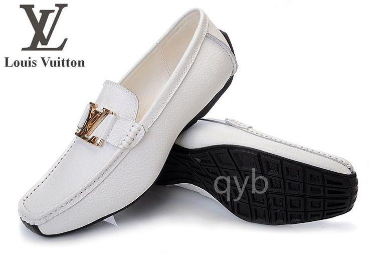 Zapatos Louis Vuitton Hombre Blanco Zapatos de vestir