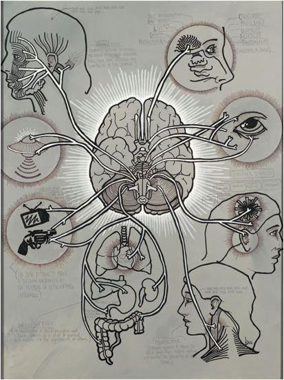 """Brandon Boyd """"Brain Diagram"""""""