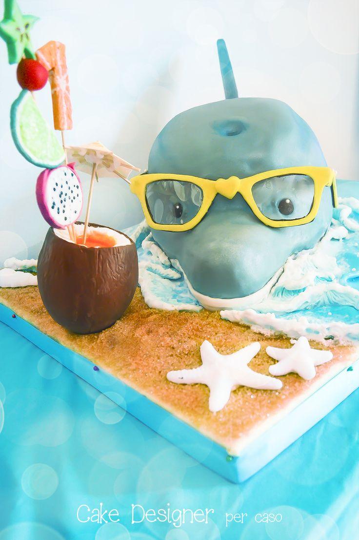 Cake Designer per caso [Dolphin Cake]
