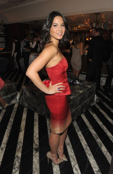 """Olivia Munn (TV personality and actress) attends The Hollywood Foreign Press Association and InStyle Celebrate """"A Night of Firsts"""" and The New Miss Golden Globe 2012 season at Cecconi's Restaurant on December 8, 2011 in Los Angeles, California."""
