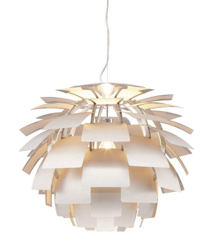 Photon Ceiling Lamp Aluminum - Zuo Modern | domino.com
