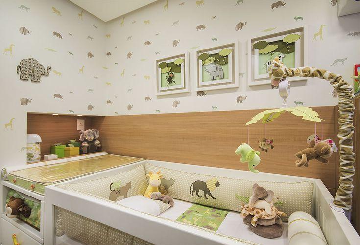 Selecionamos 10 dicas econômicas de kit berço Safári, Animais da Selva e Zoo para te ajudar a escolher a decoração do quarto de bebê sem gastar muito.