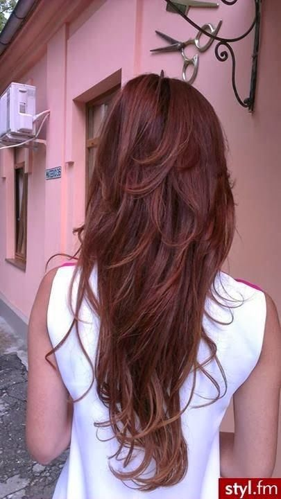 Long Red Hair :Red Hairstyles For Women | Hair |Haircuts |Color