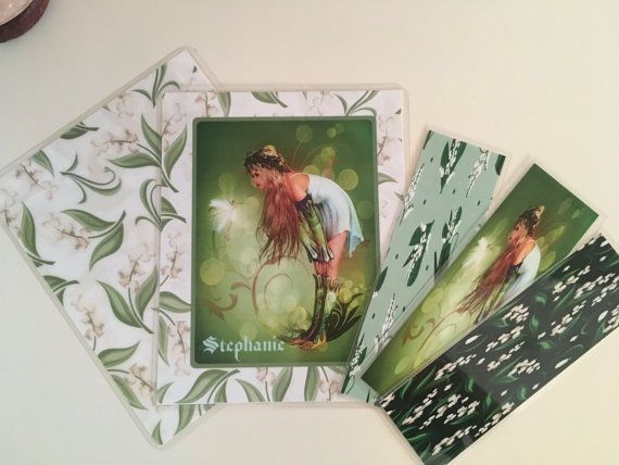 Lily of the Valley cover for Erin Condren Happy Planner and