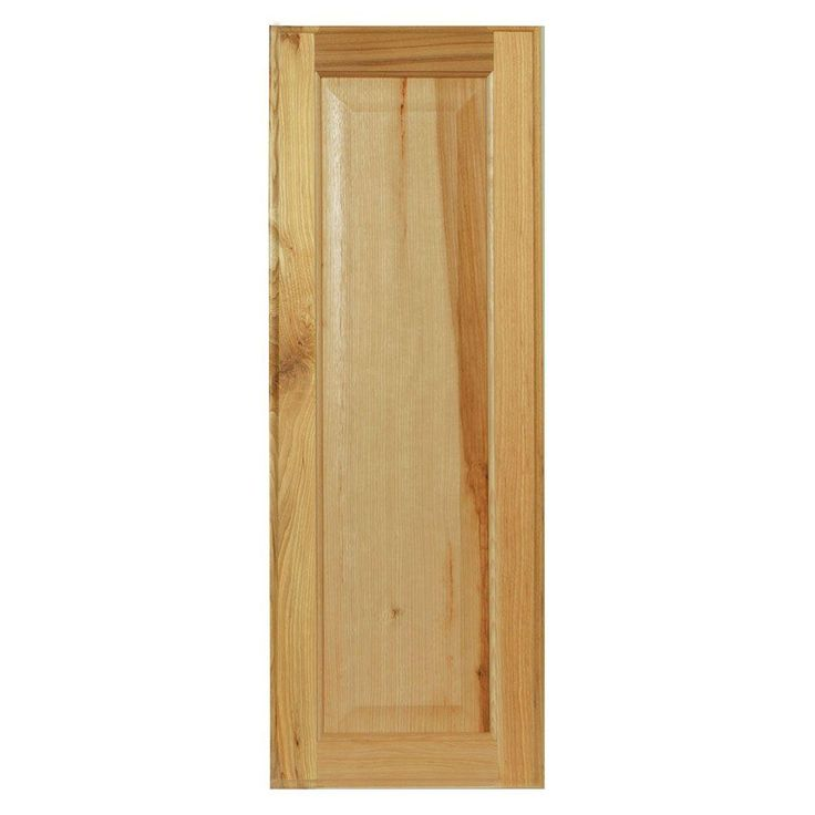 10x27.375x0.625 in. Hampton Decorative End Panel in Natural Hickory