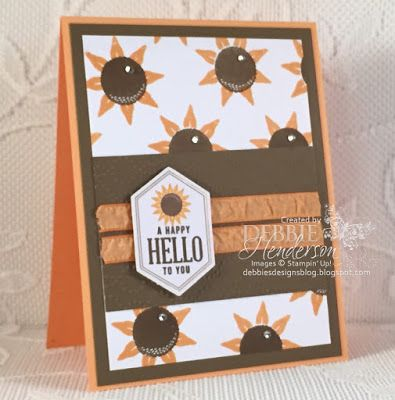 Stampin' Up! Paper Pumpkin September 2016 Alternative Projects. Debbie Henderson, Debbie's Designs. #paperpumpkin