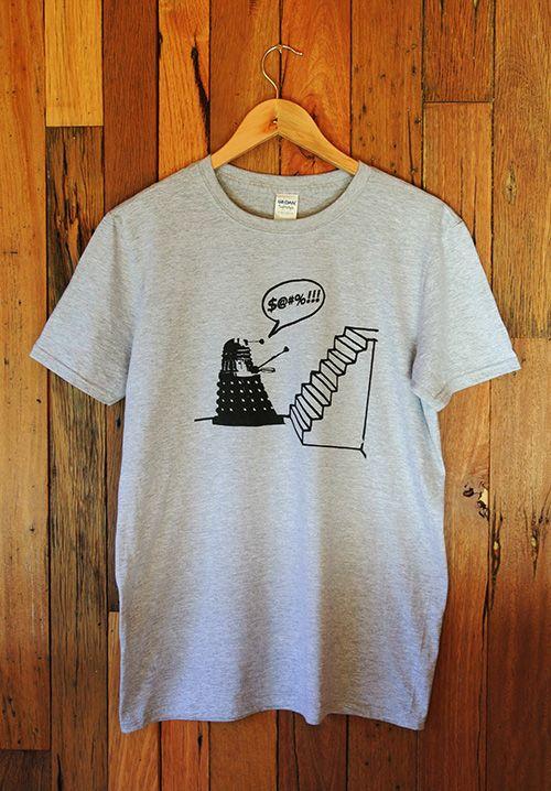 Mens T-Shirt Dr Who Dalek