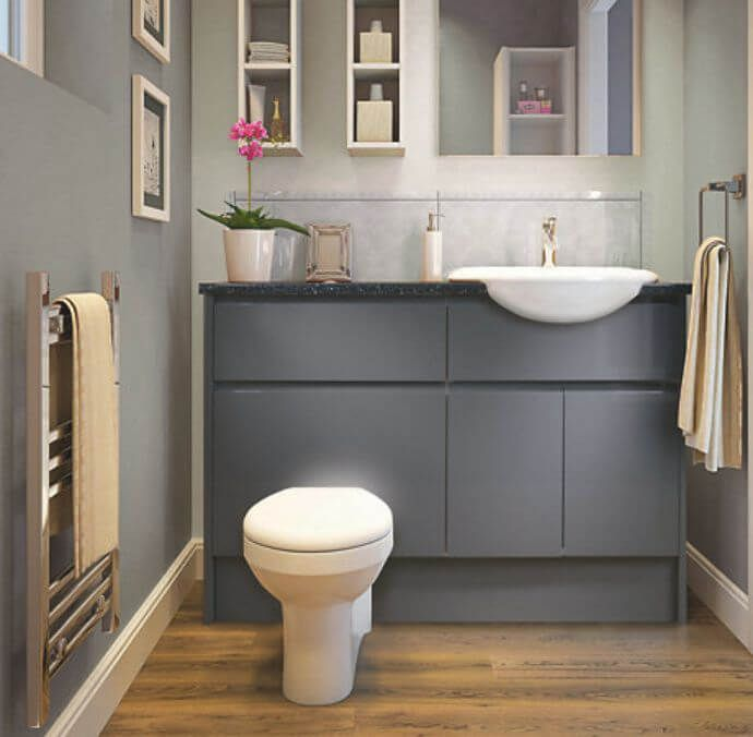45 Best Bathroom Storage Cabinets For Wall And Floor That Will Help You In 2020 Fitted Bathroom Fitted Bathroom Furniture Bathroom Furniture Uk