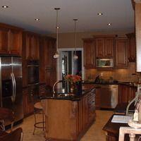 Boston Design Kitchen Custom Counter-tops and cabinetry. Dream Kitchen Renovation. Brantford Ontario Design Innovation