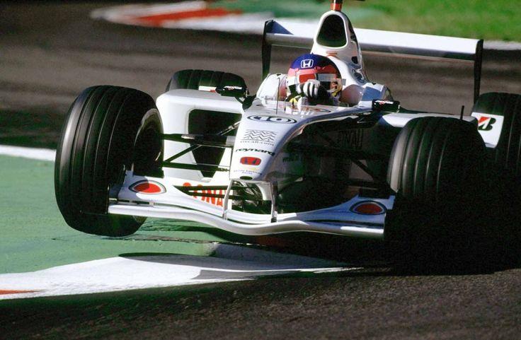 jacques villeneuve 2001   Jacques Villeneuve, BAR, Monza, 2001