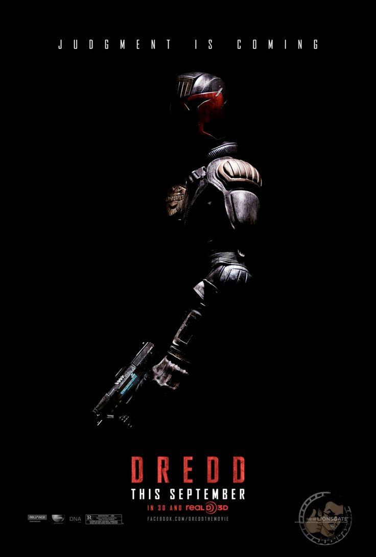 Poster design top 10 - Poster Of Dredd