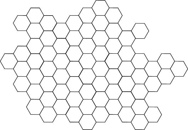 ハニカム形状 - Google 検索