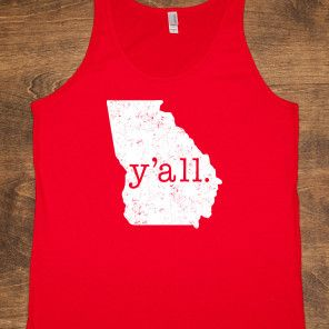 Y'ALL Georgia Shirt I just bought this. So in love!!