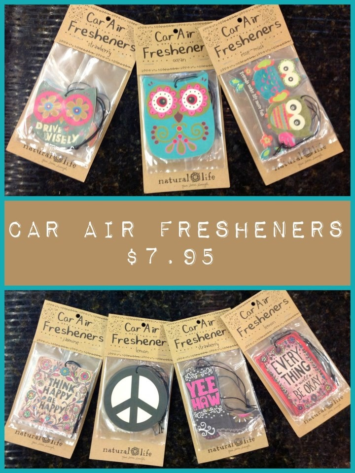 Natural Life Car Air Fresheners pinittowinit naturallife