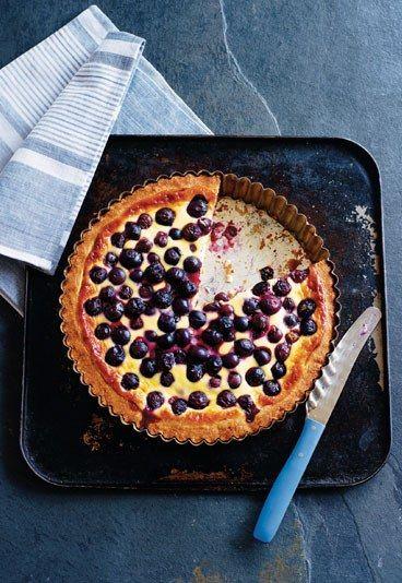 Die besten Rezepte aus Skandinavien: Blaubeer-Kuchen Pie - das leckere ...
