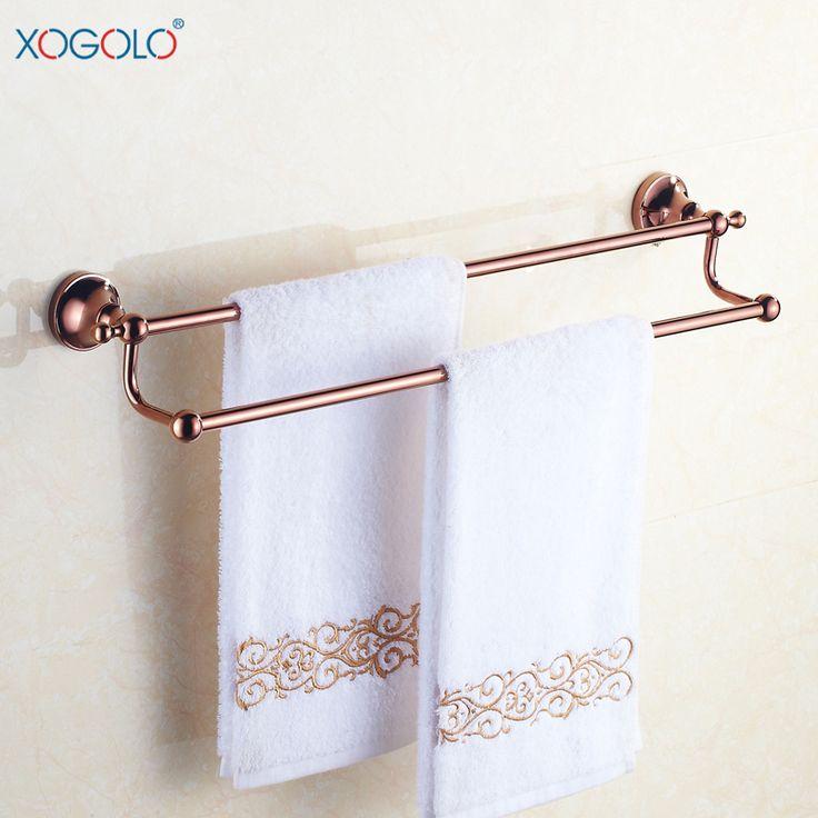 Купить товарВсе меди выросли золотые антикварные европейский двойное адвокатское сословие полотенца вешалка для полотенец ванной аппаратных аутентичные 4048 в категории Вешалки для полотенецна AliExpress.