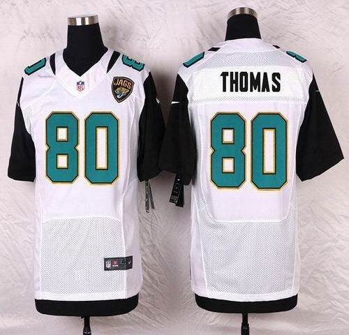 NFL Jacksonville Jaguars Mens Football Jersey Soccer Rugby Jerseys 80 Julius Thomas White Elite Jersey