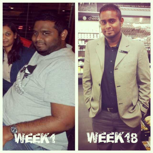Amazing 34kg Weight Loss Story