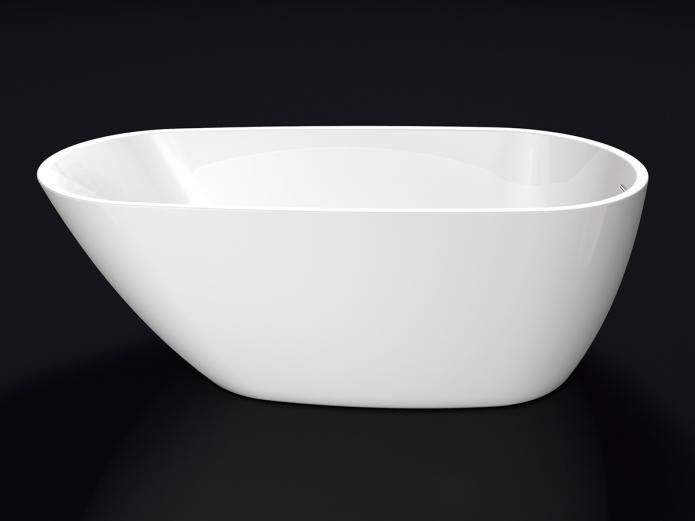 Kado Arc 1690 Freestanding Bath (Flat Rim)