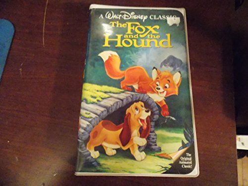 Fox And The Hound Disney VHS Black Diamond RARE! @ niftywarehouse.com #NiftyWarehouse #Disney #DisneyMovies #Animated #Film #DisneyFilms #DisneyCartoons #Kids #Cartoons