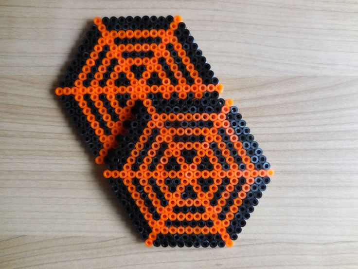 Halloween Coaster Set Hama Beads by TCAshop