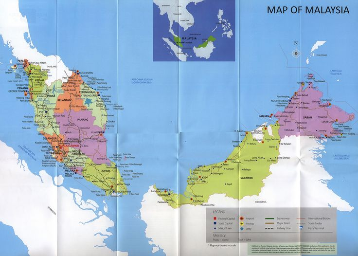 Map of Malaysia 2013 tourism travel brochure | by worldtravellib World Travel library