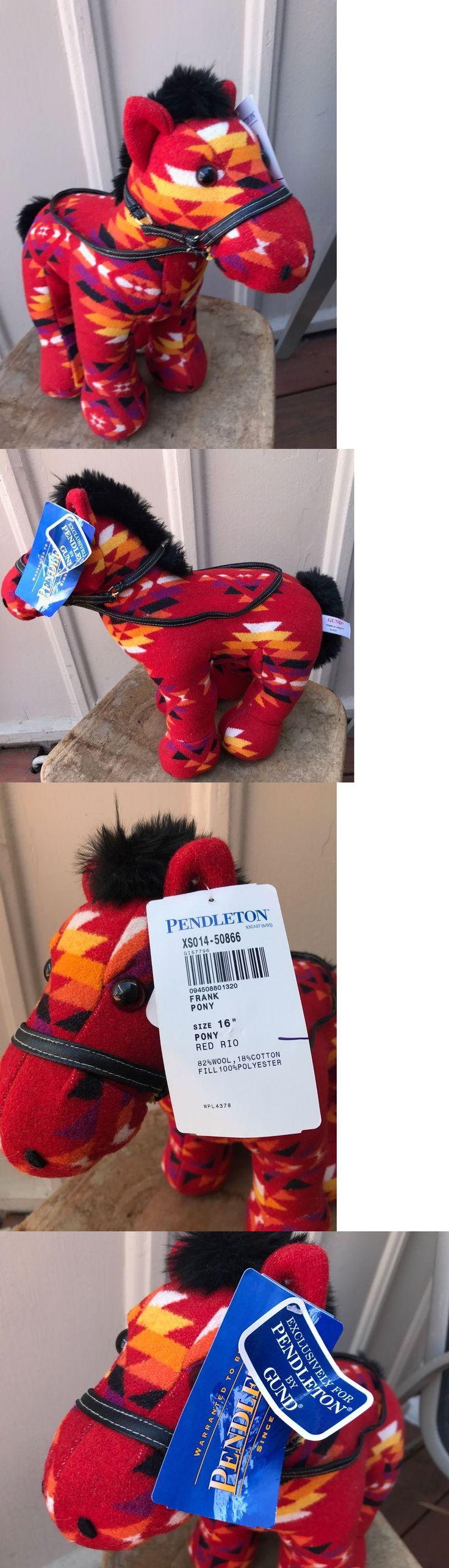 Gund 2598: Pendleton By Gund Frank Pony Stuffed Plush Horse Nwt Beautiful 16 Franklin -> BUY IT NOW ONLY: $150 on eBay!