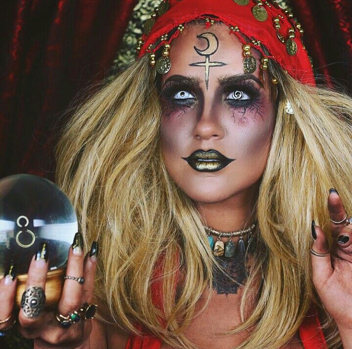 Demented Gypsy for Halloween | Nicole Guerriero 143                                                                                                                                                                                 More