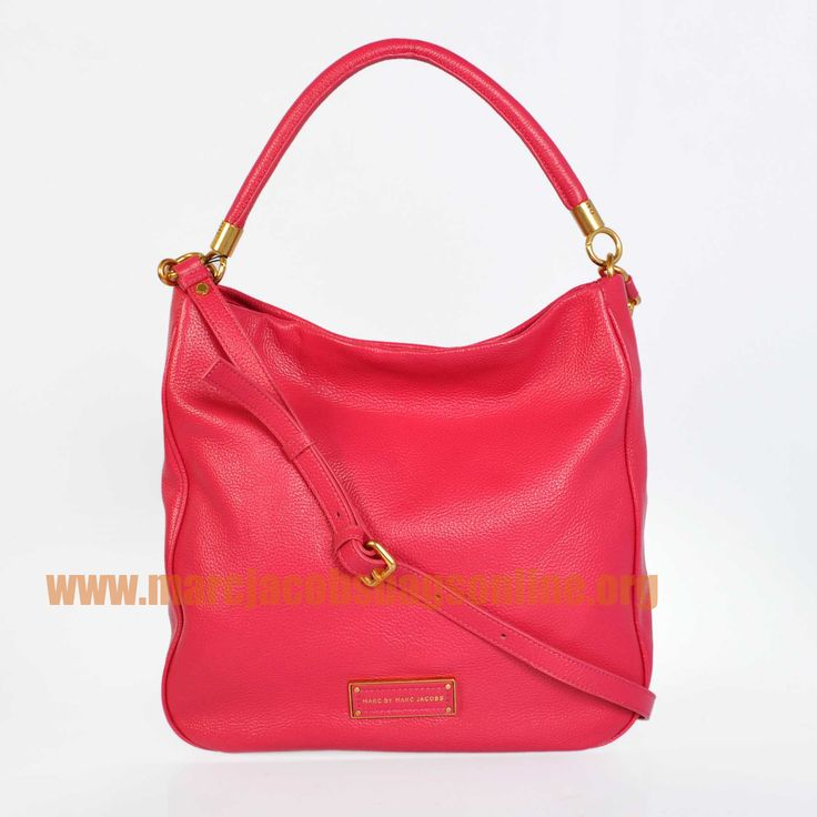 Cheap Marc Jacobs Too Hot to Handle Hobo Rose $171.50-marcjacobsbagsonline.org