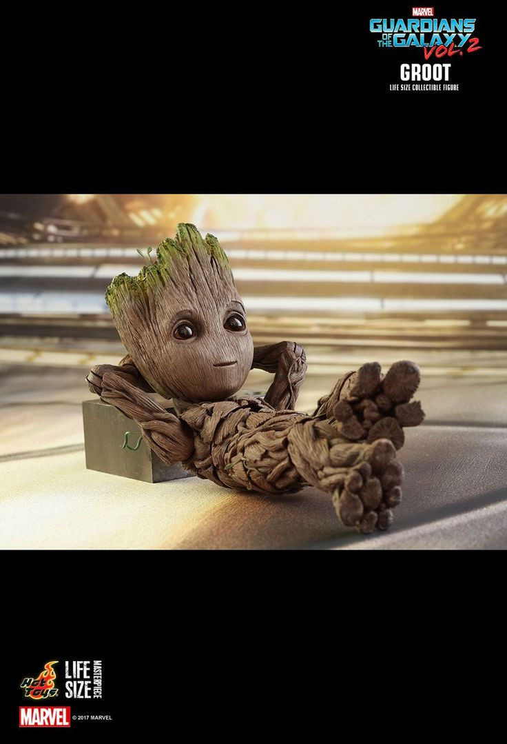 As expected, Hot Toys has revealed their life-size Baby Groot action figure, and as well as being incredibly cute, it's by far one of their most detailed and realistic efforts to date. Check it out...