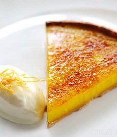 This fresh, zesty glazed lemon tart recipe from Robert Thompson is endlessly impressive. A refreshing end to a dinner party, or served with a cup of coffee for a mid-afternoon treat.