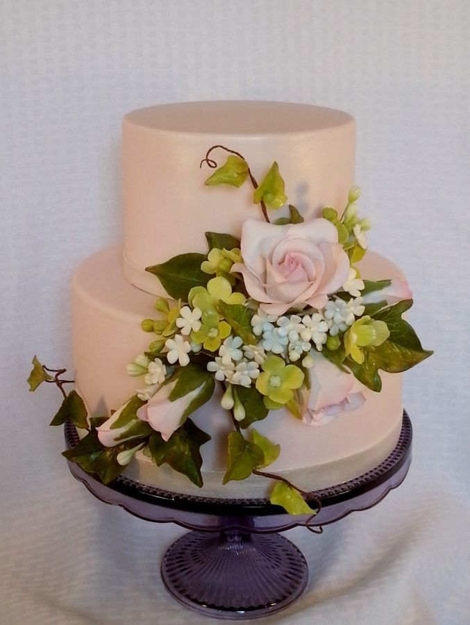 1189 best flowers and gumpaste flowers images on pinterest for Flower sprays for weddings