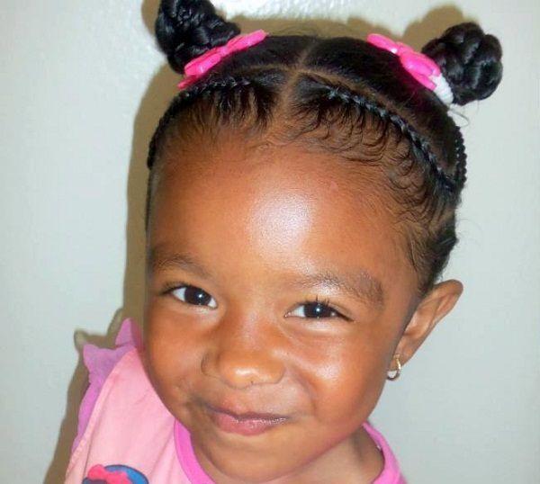 African American Kids Ponytail Hairstyles