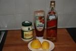 Zelfgemaakte whisky cocktailsaus