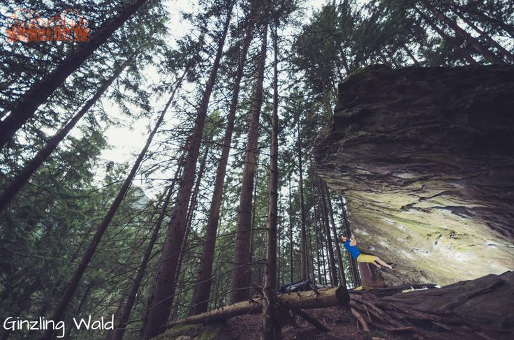 Bouldern im Zillertal - Ginzling Wald