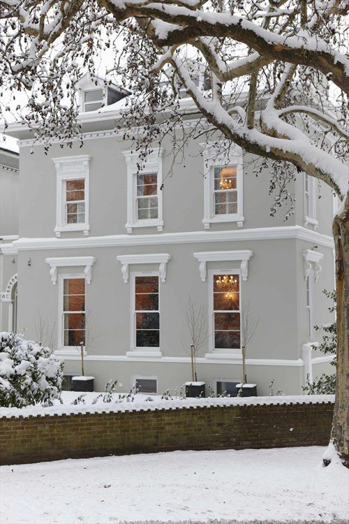 Rehau Upvc Sash Windows Help Keep Out The Cold In An Elegant Georgian House