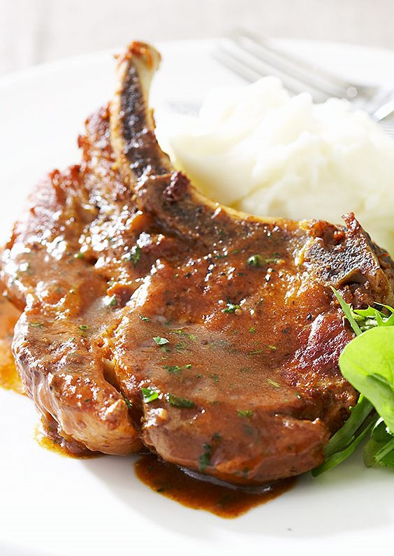 Braised pork loin chop recipes