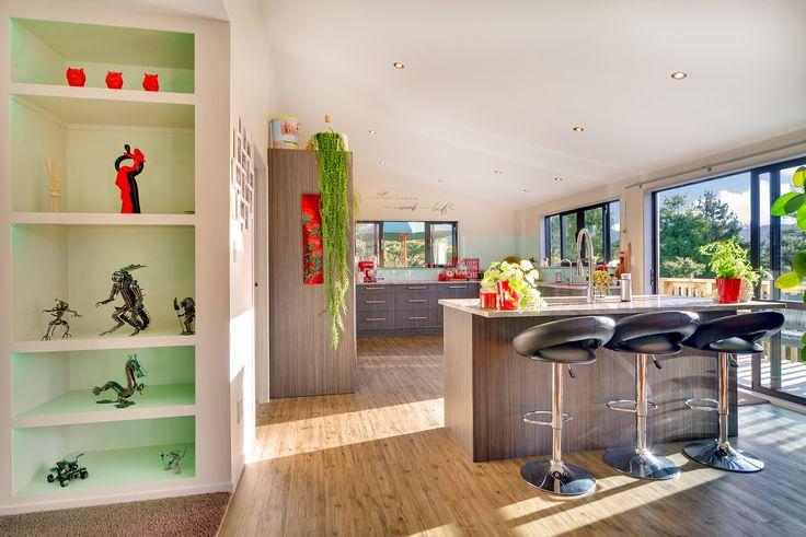 Kitchen -- open plan living