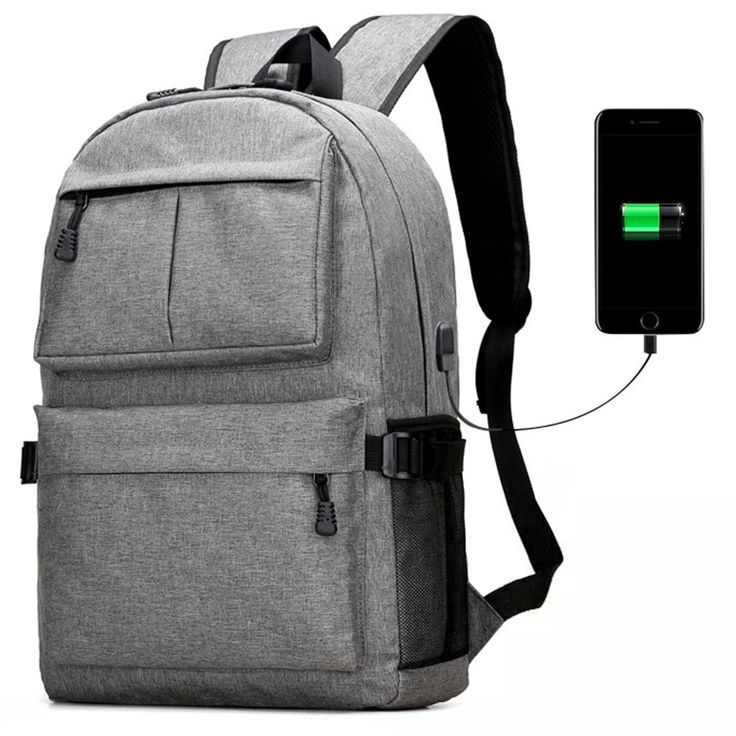 HaloVa Backpack, Multifunctional Laptop Backpack with USB Charging Port, Large Capacity Travel Backpack School Bag for College Student Business Men & Women, Gray