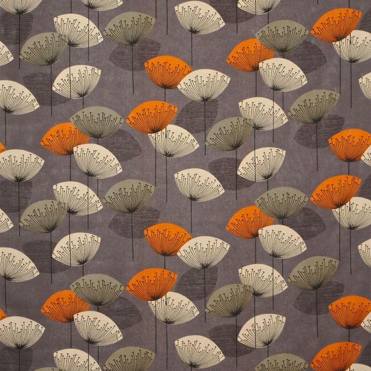 Fabric Sanderson Options 10 Design Name Dandelion