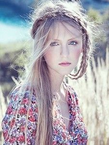 boho chic hair I would love to have!