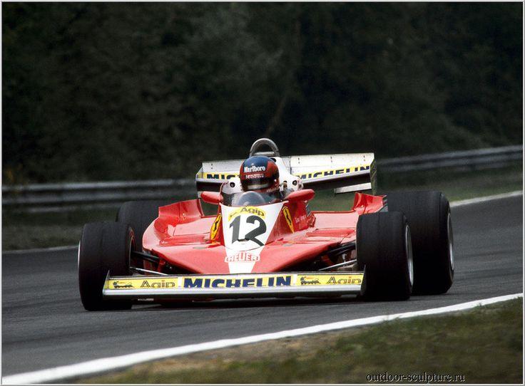 Gilles Villeneuve 1978 Ferrari 312T3