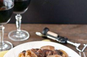Slow Cooker Rosemary Mushroom Pot Roast