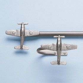 Airplane Curtain Rods U0026 Holdbacks