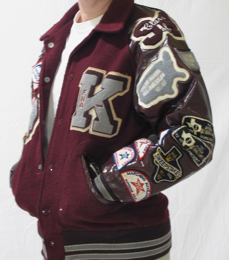 letter jacket patches 245 best images about varsity on typography 22892 | 536cd29d09c61e067dbe3bfe053f3851