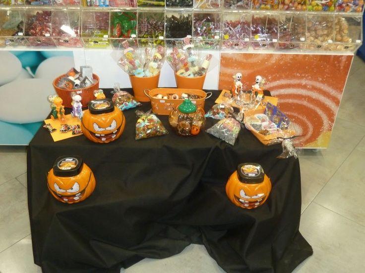 Duldi Valencia preparó esta mesa de halloween tan terrorífica y