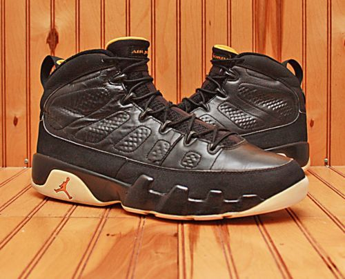 designer fashion 906a5 6ffdd ... 2010 Nike Air Jordan IX 9 Retro Size 13 - Black Citrus White - 302370  004 ...