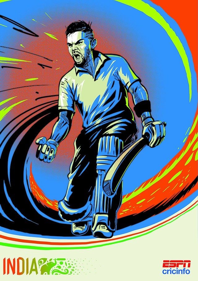 ICC Cricket World Cup 2015 Poster - India