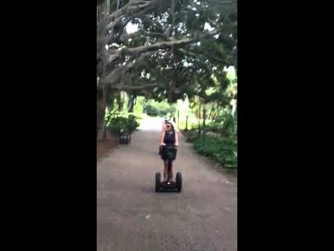 Kangaroo Segway Video Shani and Lauren